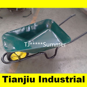 South Africa Wheelbarrow Wb3800 with 13X3 Solid Wheel pictures & photos