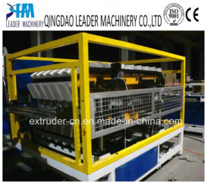 1050mm PVC Plastic Bamboo Roofing Sheet Extruding Machine pictures & photos