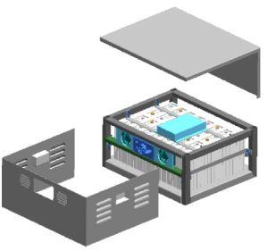 24V800ah LiFePO4 Battery Pack