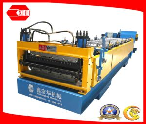Double Layer Steel Tile Roofing Panel Forming Machine pictures & photos