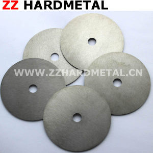 Tungsten Cemented Carbide PVC Cutting Slitting Blade Tungsten Carbide From Zhuzhou pictures & photos