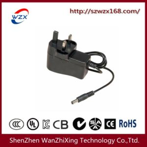 12W (WZX-668) Power Adapte UK Standard Three- Flat Plug (WZX-668 UK) pictures & photos