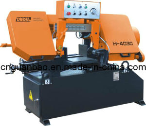 Band Sawing Machine for Metal Cutting H-4030 pictures & photos