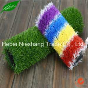 Natural Artificial Turf Grass for Garden Decoration pictures & photos