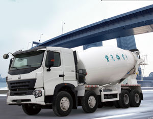 Top Quality HOWO A7 Mixer Truck 8X4 pictures & photos