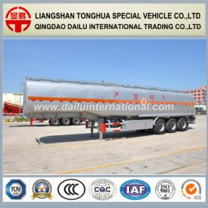 Manufacturer 3 Axle Stainless Steel Liquid Tanker Semi Trailer pictures & photos