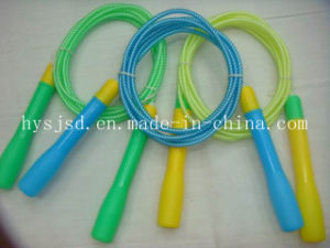 Hot Sale Jump Rope with Wooden Handle pictures & photos