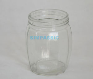 900ml Glass Caddy Jar, Food Glass Bottles for Wholesale pictures & photos