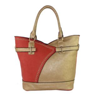 2016 New Arrive Women′s Shoulder Leather Bag European Style
