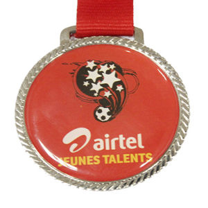 Wholesale Printed Football Medal (LM10050) pictures & photos