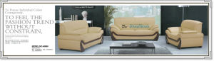 Italian Design Genuine Leather Modern Sofa (A006) pictures & photos