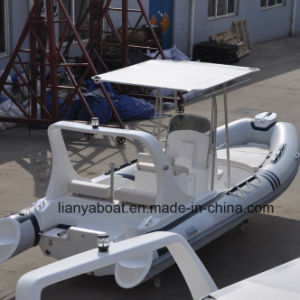 Liya 6.2m Hypalon Inflatable Boat Rigid Hull Inflatable Boat Sale pictures & photos