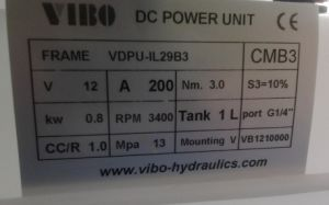 Hydraulic Pump&Mini Power Unit for Lift Table (VDPU-1L29B3) pictures & photos