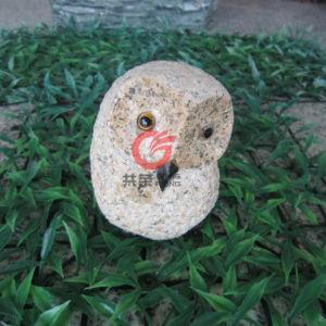 Stone Owl Sculpture (SOS001)