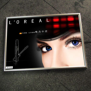 LED Billboard and LED Sign Board with Crystal Light Box Picture Frame pictures & photos