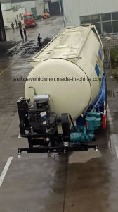 China 45mm3 Bulk Cement Tanker Trailer with ABS System pictures & photos