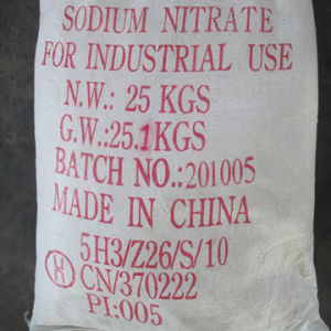 Manufacture with Reach and ISO Certificate Sodium Nitrate Prilled 99.5% pictures & photos