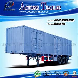 Van Semi Trailer/Cargo Box Truck Trailer pictures & photos