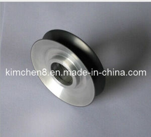 Cearamic Coating Aluminum Pulley D120*H22mm for Copper Wire Guide pictures & photos