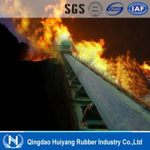 Cement Industry Fire Resistant Rubber Conveyor Belting pictures & photos