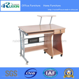 Economical Melamine Office Desk with Wheels (RX-7306A) pictures & photos