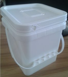 White PP Plastic Pail Packing Containers