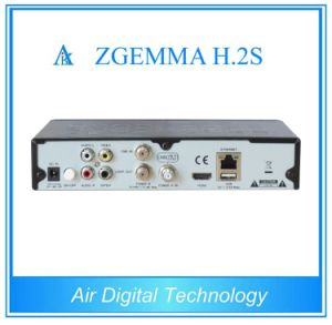 Satellite TV Receiver Zgemma H. 2s with Twin DVB-S2 Tuner Dual Core pictures & photos