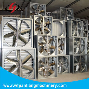 48′′ Wall Centrifugal Drop Hammer Exhaust Fan, Greenhouse pictures & photos