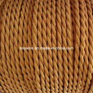 Copper 2 Core Braided Lighting Wire pictures & photos