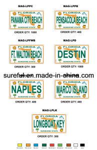 Magnet Souvenirs License Plate pictures & photos