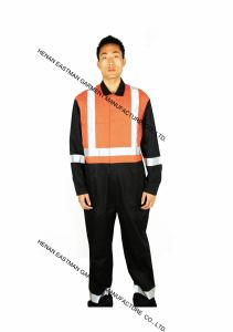 Safety Coverall with Reflective pictures & photos