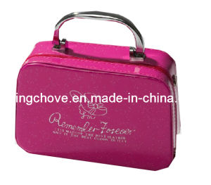 Fashion Shiny Pink PU with Handle Cosmetic Bag (KCC44) pictures & photos