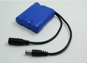 11.1V 2400mAh 26.64wh Li Ion Battery Pack 18650 Battery with PCB pictures & photos
