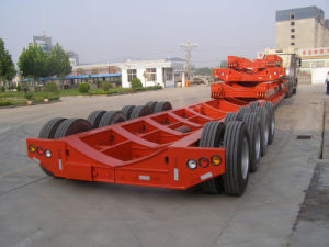 China Manufacturer Tanker Semitraler