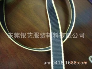 1.3mm/10mm Polyester Cotton Ribbon for Automotive Belt pictures & photos