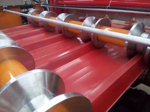 Full Automatic Roofing Roll Forming Machine pictures & photos
