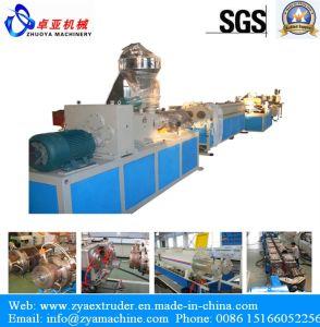 PVC Dual Pipe Production Line pictures & photos