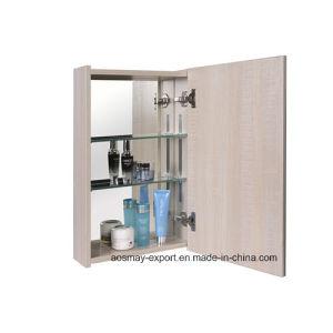 Melamine Board Mirror Cabinet with One Door Asm-W6601