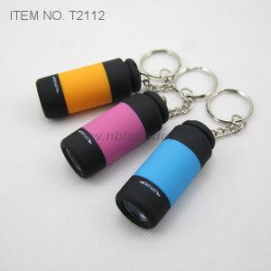 Mini LED Keychain Flashlight (T2112) pictures & photos