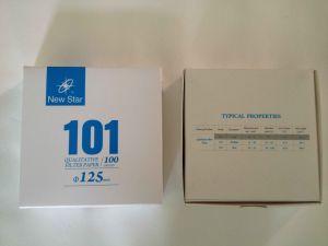 Qualitative Filter Paper (101) pictures & photos