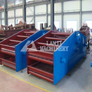 Fast Working Manure Vibrating Screen with Strong Support