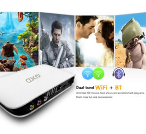WiFi Android 5.1 Quad-Core Rk3128 Smart TV Box pictures & photos