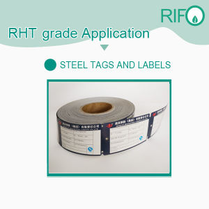High Temperature Resistant Steel Labels Materials with Pet Material Based pictures & photos
