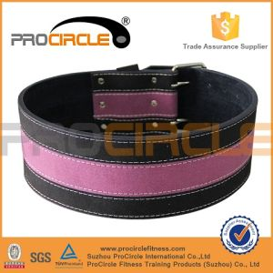 Gym Fitness Heavy Duty Leather Weight Lifting Belt (PC-WB1003) pictures & photos
