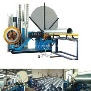 25-120 mm Air Filter Inner Core Spiral Tube Forming Machine pictures & photos