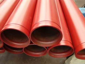 Schedule 40 Grooved Painted Seamless Steel Pipe for Sprinkler pictures & photos