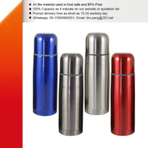 500ml Vacuum Sealed Metal Travel Flask pictures & photos