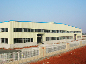 Steel Structure Frame Light Weight Warehouse/Workshop (DG2-033) pictures & photos