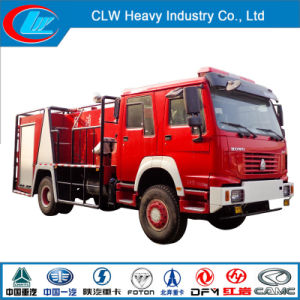 Fire Fighting Truck Manufacturer Produced HOWO 4X2 Fire Extinguisher Truck pictures & photos