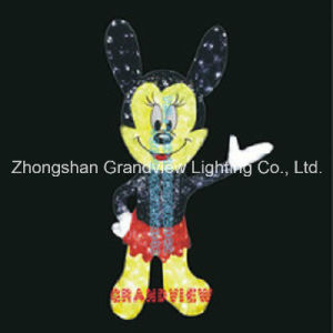 LED Light up Cartoon Mouse Motif Lights pictures & photos
